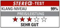 STEREO Klang Niveau 99%